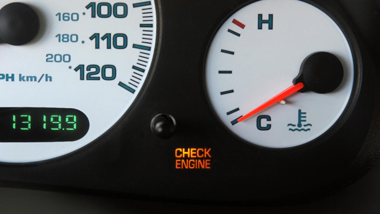 check engine light comes on